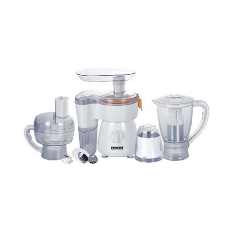 Nikai 7-In-1 Food Processor, 300W, NFP1721