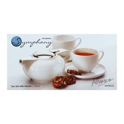 Symphony Tea Set With Infuser 5pcs SY-4321