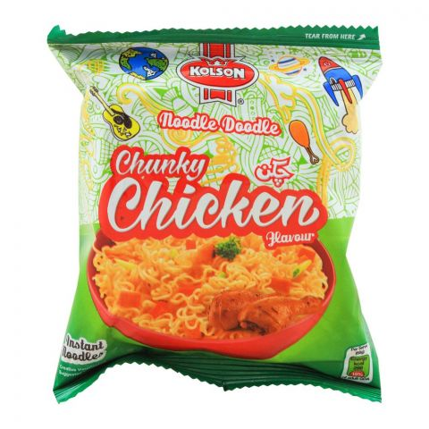 Kolson Instant Noodles, Chunky Chicken, 65g