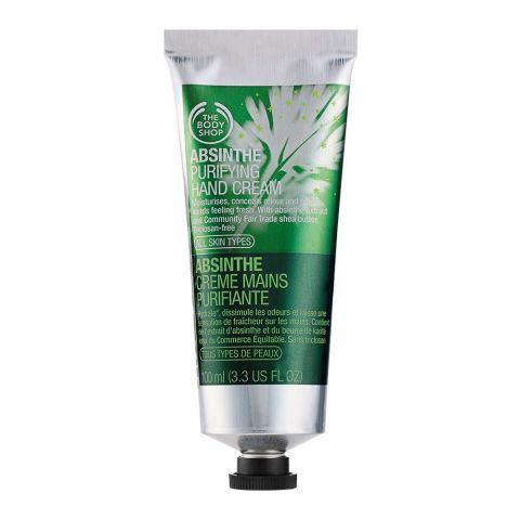 The Body Shop Absinthe Purifying Hand Cream, 100ml