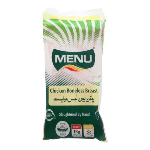 Menu Chicken Boneless Breast, 1 KG