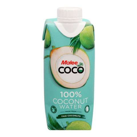 Malee 100% Coconut Water, 330ml