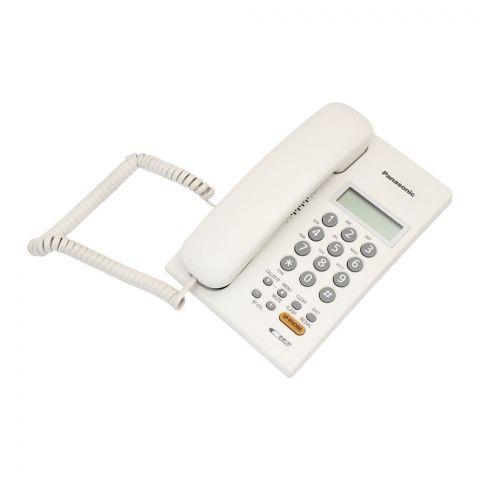 Panasonic Digital Corded Speakerphone, White, KX-SC62SX