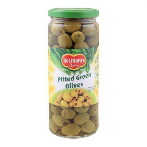 Delmonte Pitted Green Olives, 450g