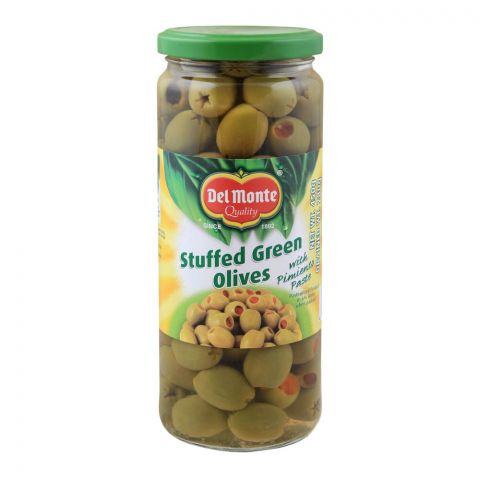 Delmonte Stuffed Green Olives, 450g