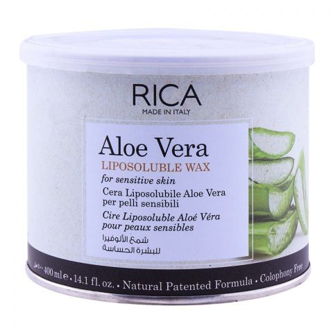 RICA Aloe Vera Sensitive Skin Liposoluble Wax 400ml