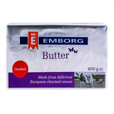 Emborg Butter Unsalted 400g