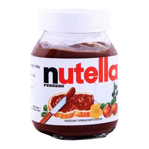 Nutella Hazelnut Cocoa Spread 180g