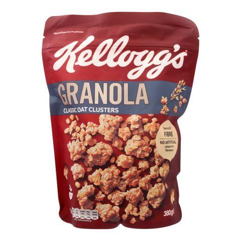 Kellogg's Granola, Classic Oat Clusters, 380g