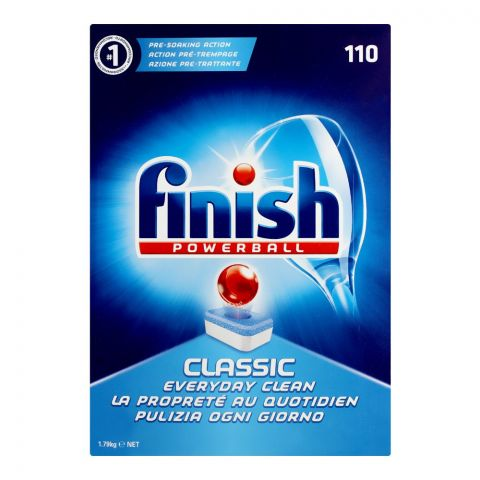 Finish Power Ball Dish Washer Tablet, 110-Pack