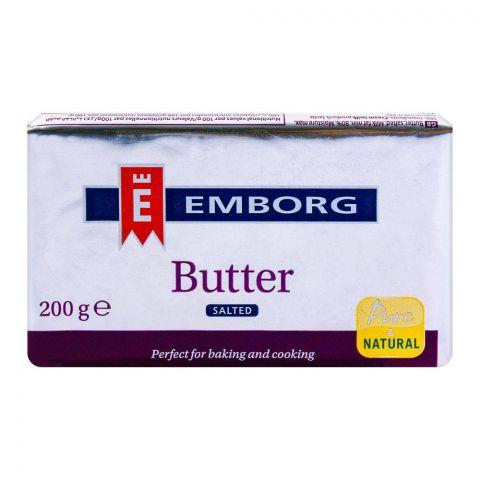 Emborg Butter Salted 200g