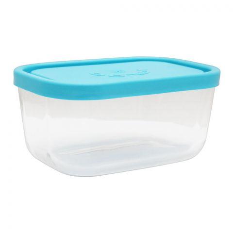 Borgonovo Igloo Glass Bowl, Rectangular, 5.7x3.7x3 Inches. No. 1