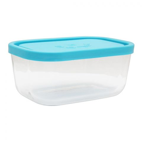 Borgonovo Igloo Glass Bowl, Rectangular, 3.7x7.3x3 Inches, No. 2