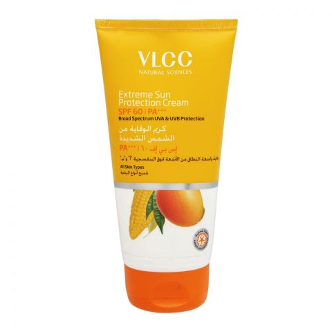 VLCC Natural Sciences Extreme Sun Protection Cream, SPF 60 PA+++, All Skin Types, 150ml