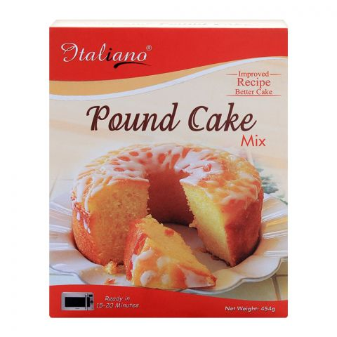 Italiano Pound Cake Mix, 454g