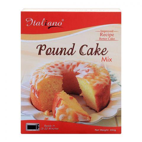Italiano Pound Cake Mix, 454g