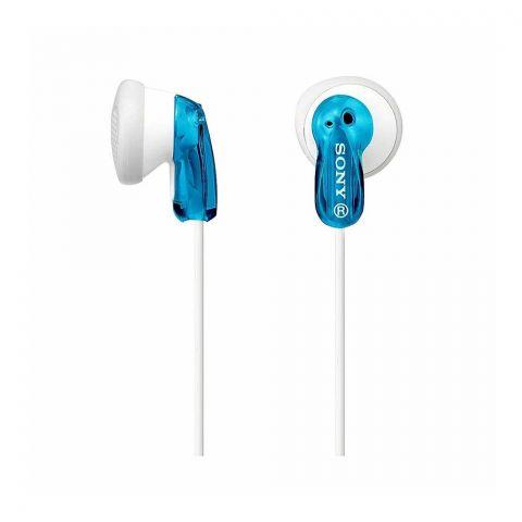 Sony Stereo Headphone, Blue, MDR-E9LP