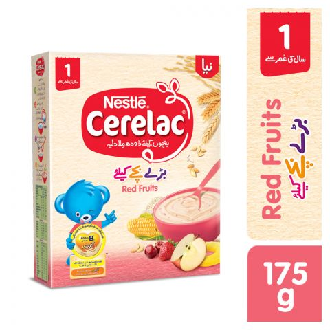Nestle Cerelac Red Fruits, 1+ Years, 175g