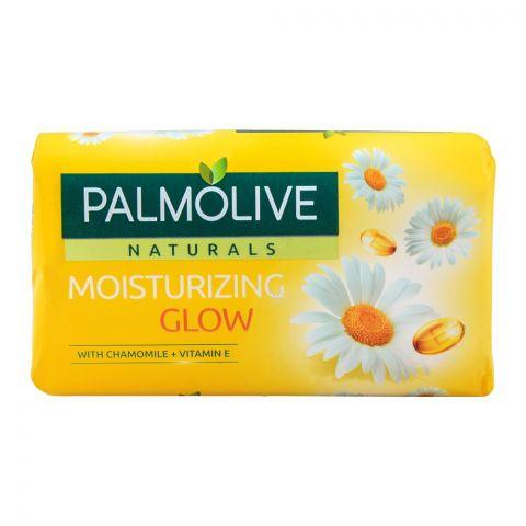 Palmolive Naturals Moisturizing Glow Soap, Chamomile + Vitamin E, 110g