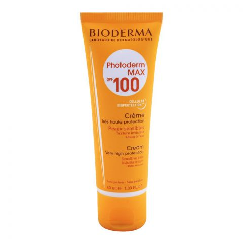Bioderma Photoderm Max SP F100 Very High Protection Cream, Sensitive Skin, 40ml