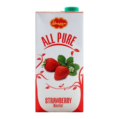 Shezan All Pure Strawberry Fruit Nectar, 1 Liter