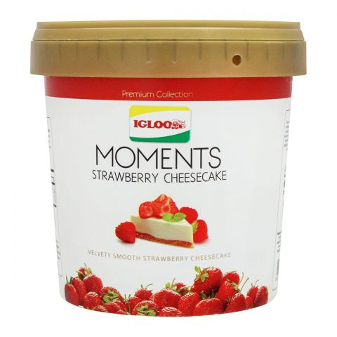 Igloo Moments Strawberry Cheesecake Frozen Dessert, 1000ml