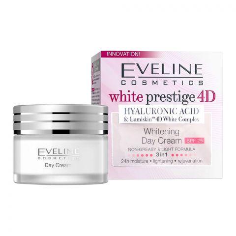 Eveline White Prestige 4D Whitening SPF 25 Day Cream, 50ml