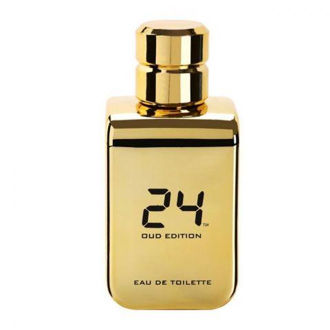 24 Gold Oud Edition Eau De Toilette, 100ml