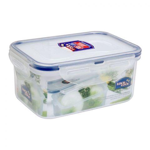 Lock & Lock Air Tight Rectangular Short Food Container, 600ml, LLHPL811