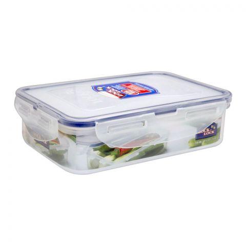 Lock & Lock Air Tight Rectangular Short Food Container, 550ml, LLHPL815