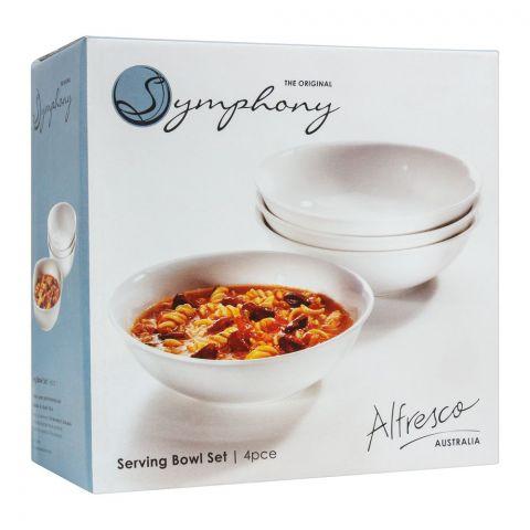Symphony Serving Bowl Set, 7 Inches, 4 Pieces, ES-3834