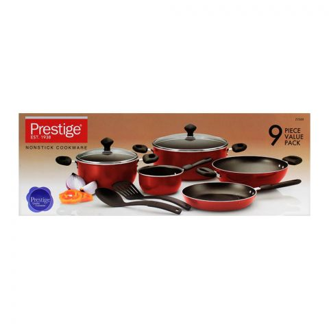 Prestige Non-Stick Cooking Set 9-Pack - 21569