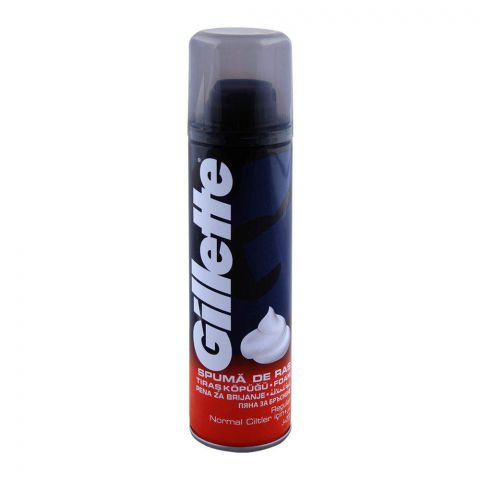 Gillette Regular Normal Ciltler Shaving Foam 200ml