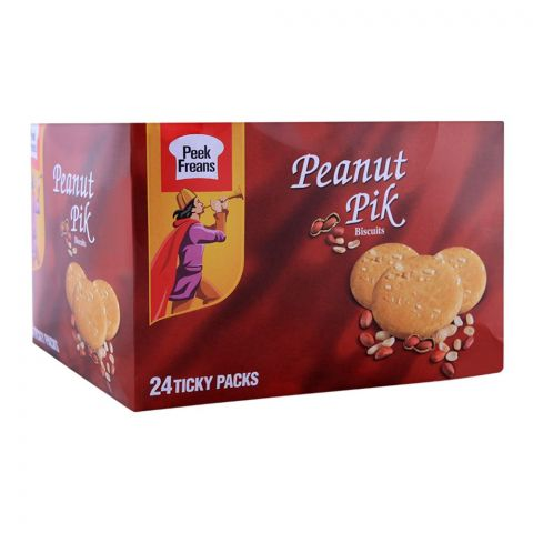 Peek Freans Peanut Pik Biscuit, 24 Ticky Packs