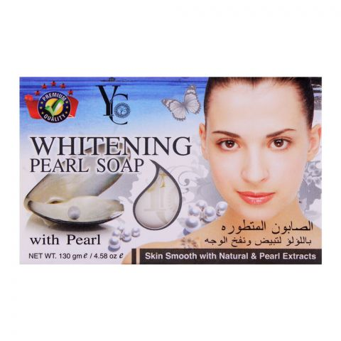 YC Whitening Pearl Soap, 130g