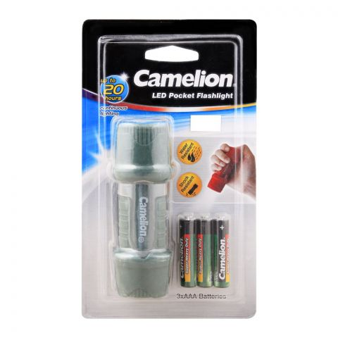 Camelion LED Pocket Flash Light, HP7011-3R03PBP