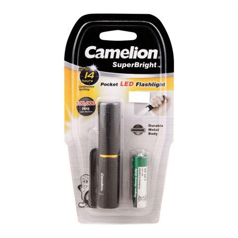Camelion Super Bright Pocket LED Flashlight, T537-R6PBP