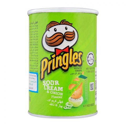 Pringles Potato Crisps, Sour Cream & Onion Flavor, 42g