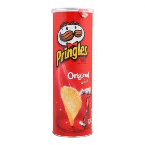 Pringles Potato Crisps, Original Flavor, 107g