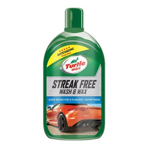 Turtle Wax Streak Free Wash & Wax, 1 Liter