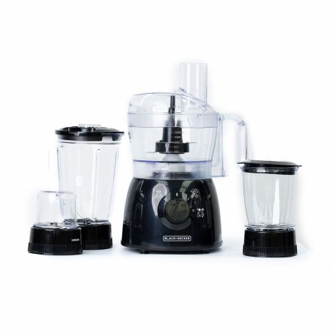 Black & Decker 5-In-1 Kitchen Robot Deluxe 2-Speed Food Processor, 33 Functions, FX400BMG