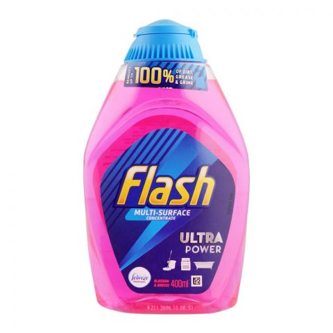 Flash Ultra Power Multi-Surface Concentrate, 400ml