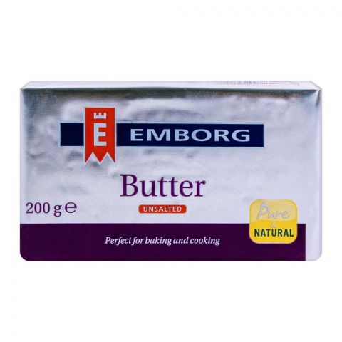 Emborg Butter Unsalted 200g