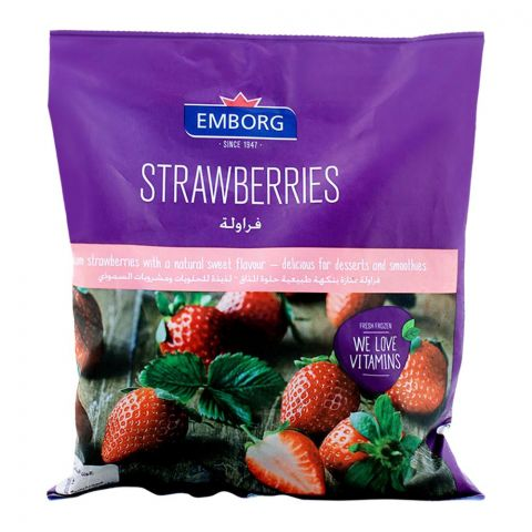 Emborg Frozen Strawberries 450g