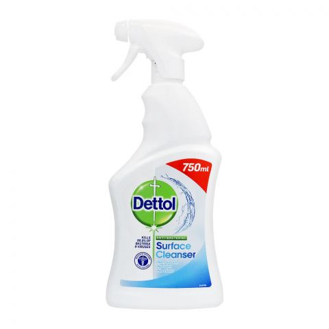 Dettol Anti-Bacterial Surface Cleaner, Trigger, 750ml
