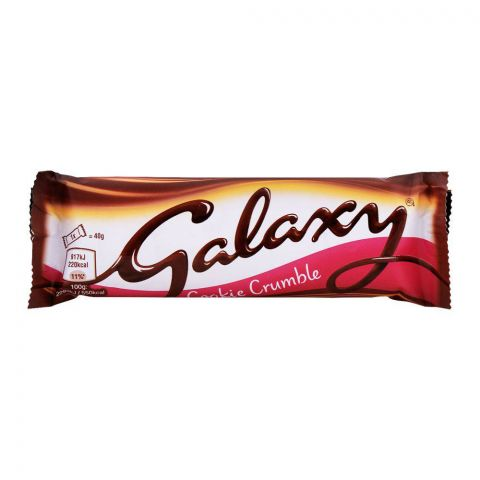 Galaxy Cookie Crumble Chocolate 40g