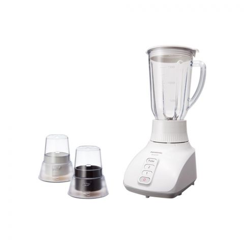Panasonic Blender With Mill 2 in 1, MX-GX1571 W