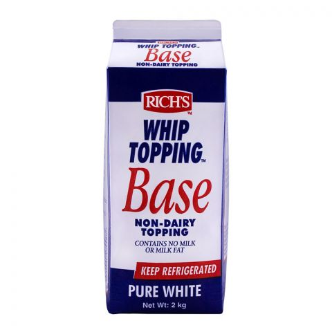 Rich's Whip Topping Base, Non-Dairy Topping, 2 KG