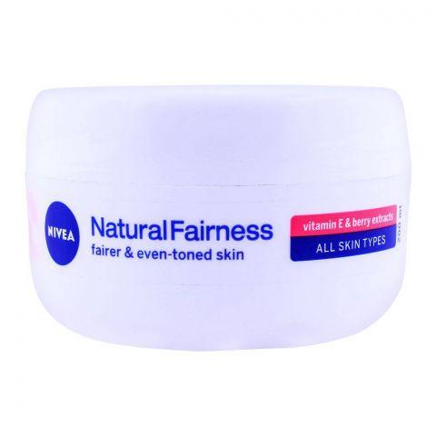 Nivea Natural Fairness Face & Body Cream 200ml