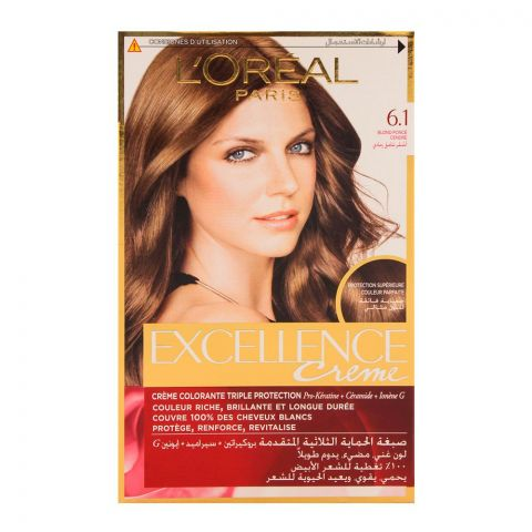 L'Oreal Excellence Hair Color Dark Ash Blond 6.1
